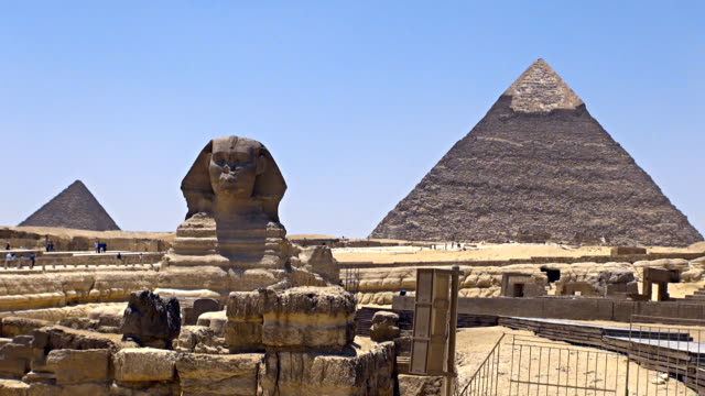Great Sphinx - Cairo, Egypt