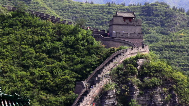 great wall, beijing - great wall of china stock videos & royalty-free footage