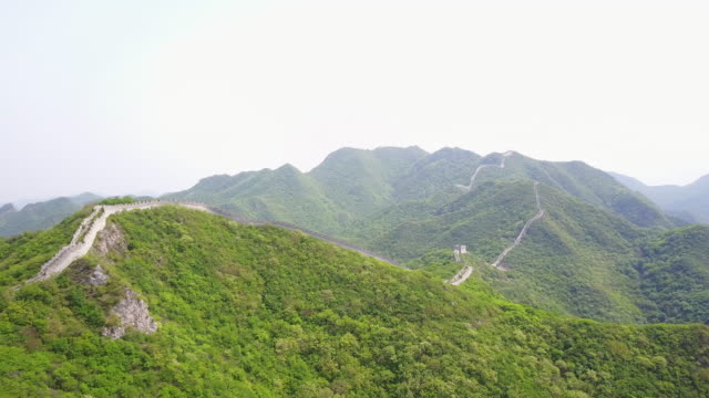 Great Wall of China, aerial view