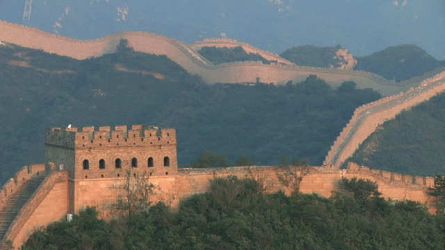 ms great wall of china at badaling / beijing, china - great wall of china stock videos & royalty-free footage