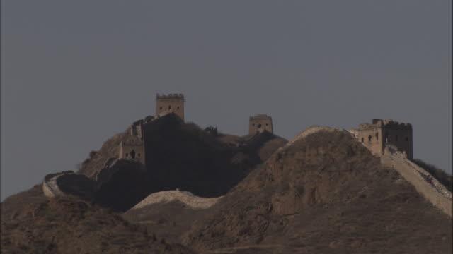 vídeos y material grabado en eventos de stock de great wall of china at badaling, beijing. - badaling
