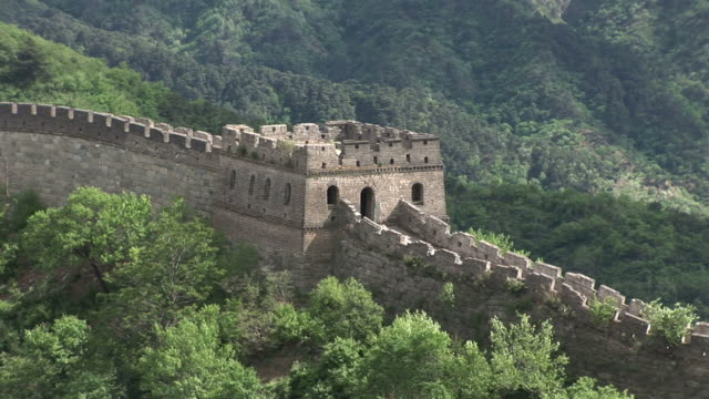great wall of china in beijing china - mutianyu stock videos & royalty-free footage