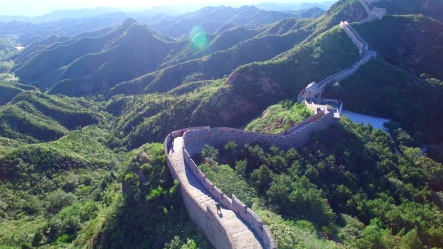 great wall of china time lapse - beijing stock videos & royalty-free footage