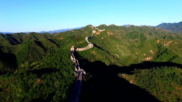 中国の万里の長城 time lapse (低速度撮影)