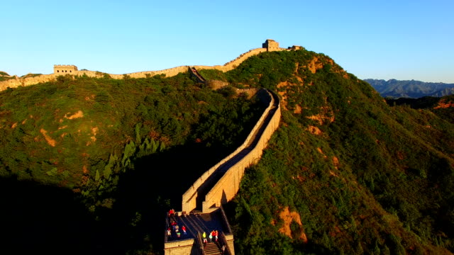 great wall of china time lapse - great wall of china stock videos & royalty-free footage