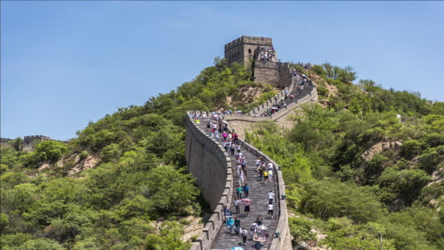 t/l great wall of china - great wall of china stock videos & royalty-free footage