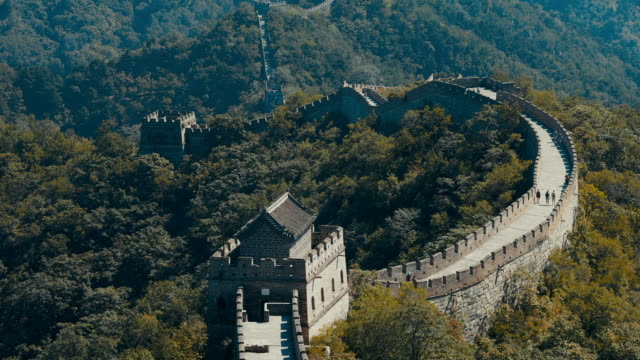 great wall of china - great wall of china stock videos & royalty-free footage