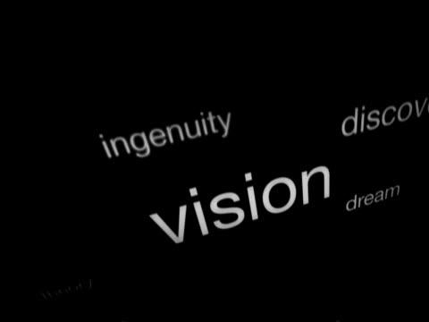 vídeos y material grabado en eventos de stock de las grandes palabras de motivación - escritura occidental