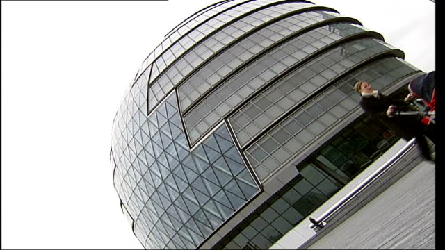 City Hall Building ENGLAND London City Hall EXT General views of City Hall building including low angle and sideways views