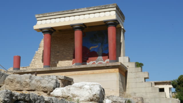Greece Crete Knossos Minoan Civilization ruins