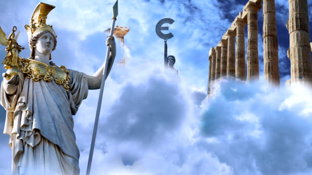 greece euro crisis - god stock videos & royalty-free footage