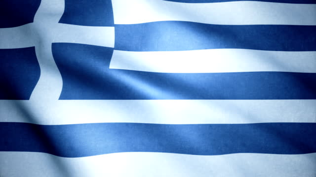 greece flag - greek flag stock videos & royalty-free footage