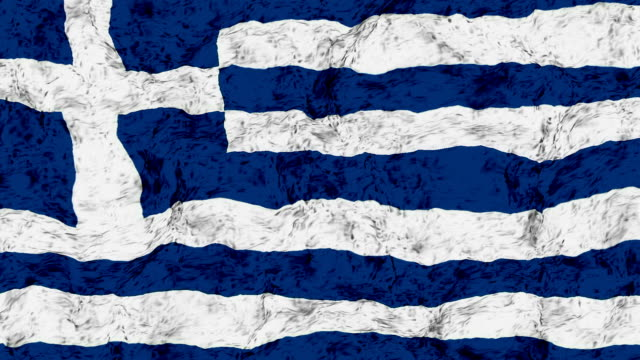 greece flag - all european flags stock videos and b-roll footage