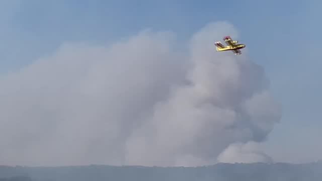 greece has been battling wildfires that erupted in a wide range of forest and rural areas for a while. greek fire fighters have continued their... - greece stock videos & royalty-free footage