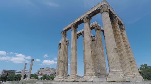 greece santorini greek islands santorini athens - ギリシャ国旗点の映像素材/bロール