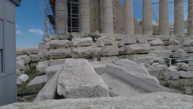 vídeos y material grabado en eventos de stock de greece santorini greek islands santorini athens - bandera griega