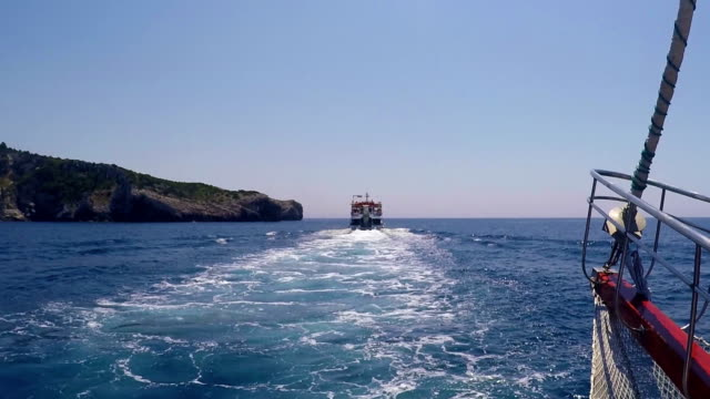 Greece Sea Boat