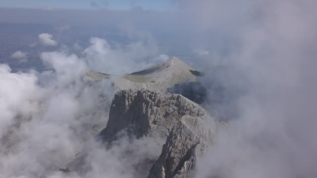 greece viewed from air - mythologie stock-videos und b-roll-filmmaterial