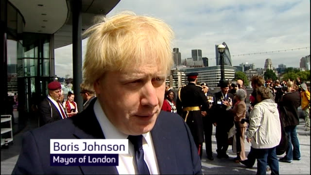Greek debt crisis may lead to Eurozone collapse ENGLAND London EXT Boris Johnson interview SOT Might be more sensible for the Greeks to say let's...