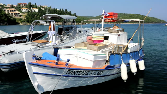Greek fishing boats