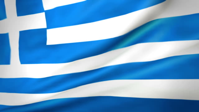 greek flag loopable flag of greece - greek flag stock videos & royalty-free footage