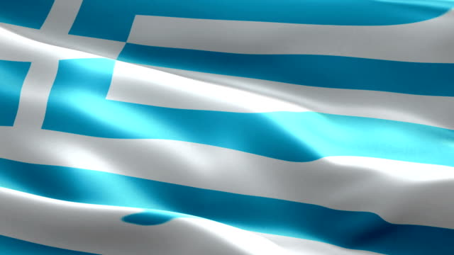 greek flag - greek flag stock videos & royalty-free footage