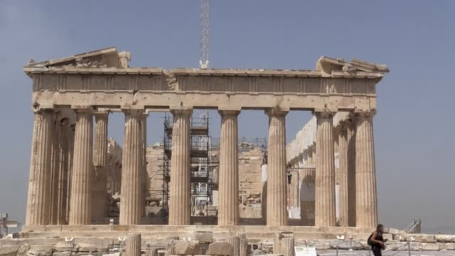 GRC: Athens Acropolis reopens to public after two-month closure