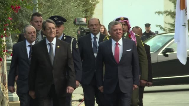 Greek Prime Minister Alexis Tsipras and Jordanian King Abdullah II arrived in Nicosia Tuesday for trilateral talks hosted by Cypriot President Nicos...
