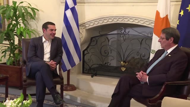 Greek Prime Minister Alexis Tsipras arrived on Tuesday in the Cypriot capital Nicosia where he was due to hold talks with the presidents of Egypt and...