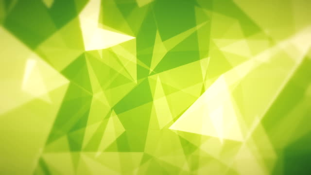 Green Abstract Triangles (Loopable)