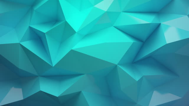 green background with polyhedron 4k - design element stock videos & royalty-free footage