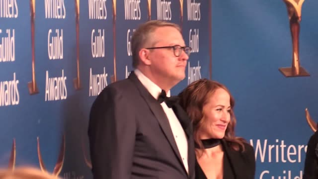green book director peter farrelly and actor joe cortese discuss the controversy surrounding the film on the red carpet of the writers guild of... - director's guild of america stock videos & royalty-free footage