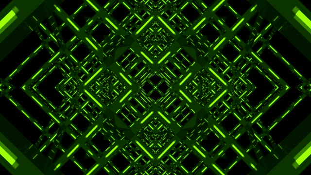 Green Color Party Kaleidoscope