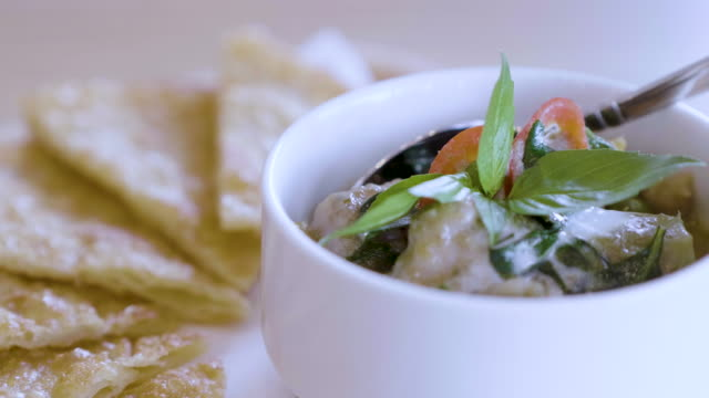 green curry - food styling stock videos & royalty-free footage