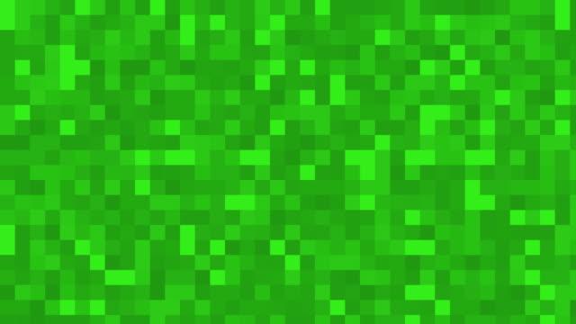 vídeos y material grabado en eventos de stock de fondo verde plazas digitales - pixelado