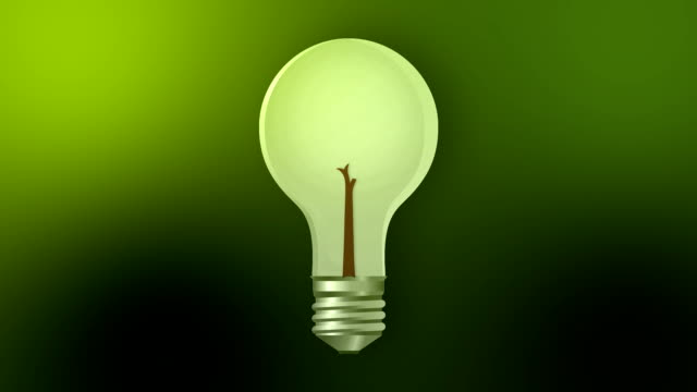green energy hd - energy efficient lightbulb stock videos and b-roll footage