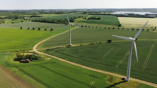 green energy - wind turbine stock videos & royalty-free footage