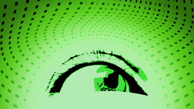 green eye - blinking stock videos & royalty-free footage