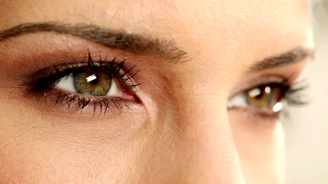 green eyes. - beautiful woman stock videos & royalty-free footage