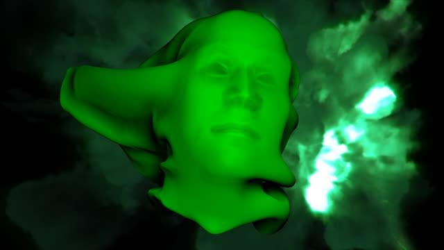 vídeos y material grabado en eventos de stock de verde cara de alta definición - aparición conceptos