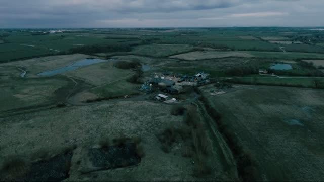 green fields - farmhouse stock videos & royalty-free footage