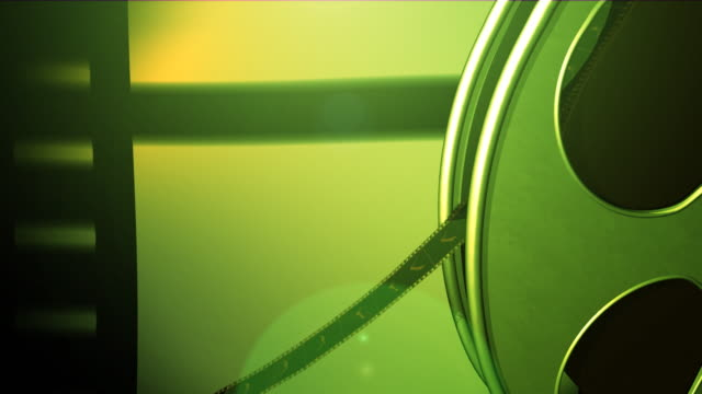 green film reel - film feeder stock videos & royalty-free footage