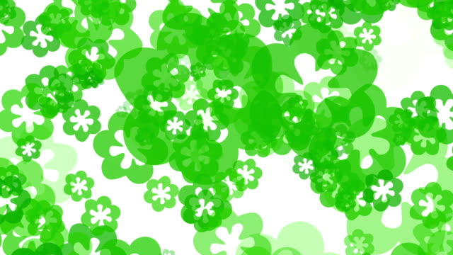 green flowers background - synthpop stock videos & royalty-free footage
