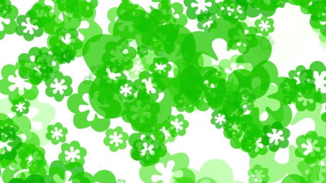 green Blumen Hintergrund
