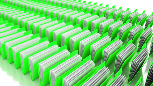 green folders - filing documents stock videos & royalty-free footage
