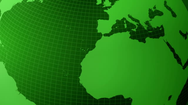 green globe animation (loopable) - politics abstract stock videos & royalty-free footage