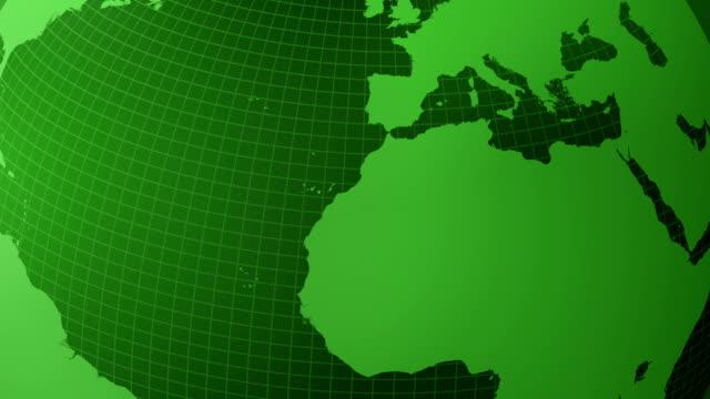 Green Globe Animation (Loopable)