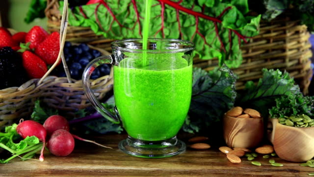 green juice - detox stock videos & royalty-free footage