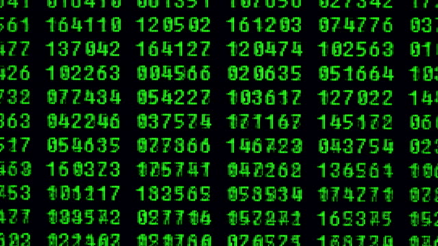 green lcd - binary code stock videos & royalty-free footage