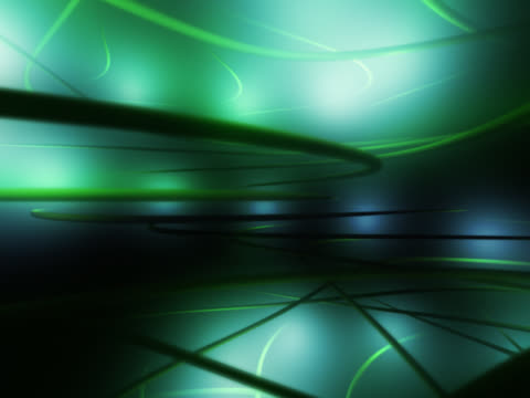 green lines and shining lights. multimedia, computer network effect - multimedia stock videos & royalty-free footage